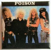 Poison - 'Group' Square Badge